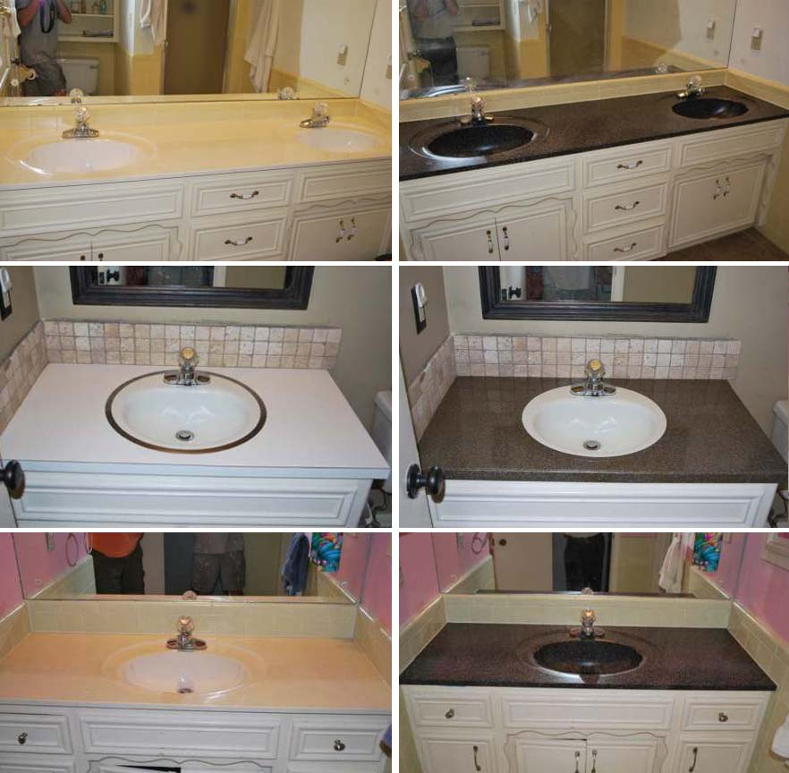 Kreative Countertops Countertop Refinishing And Bathroom